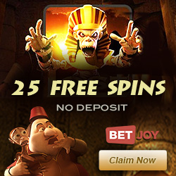 Click Here to Get 25 Free Spins on Lost Slot at Betjoy Casino