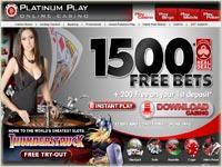 Platinum play casino italiano